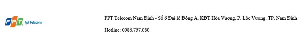 Công ty Cổ phần Viễn thông FPT – FPT Telecom Nam Định